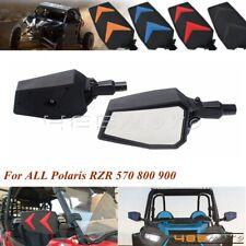"Polaris Ranger RZR 800 UTV Side Mirror Set HD 1.75/"" Left /& Right Fold Away NEW"