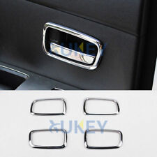 For Mitsubishi ASX Outlander Sport RVR 2011- Chrome Inner Door Handle Bowl Cover