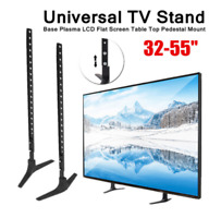 "Universal Table Top TV Stand Pedestal base Heavy Duty For 32"" - 55"" Television"