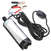 Oil Liquid Electric Fuel Transfer Pump 12V DC Submersible Diesel  Water V05