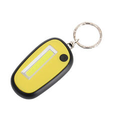 Mini COB LED Keychain Pocket Torch 3 Mode Light Flashlight Lamp Waterproof Licht
