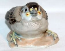 AUGARTEN WIEN Porzellan - Figur, Spatz / Haussperling