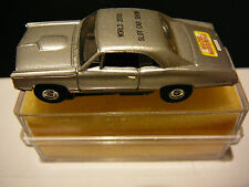 MODEL MOTORING 1967 GTO  WORLD 2000 SLOT CAR SHOW   NEW MM CHASSIS BOX AND LABEL