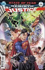 Justice League No.7 / 2016 DC Universe Rebirth / Bryan Hitch & Jesus Merino