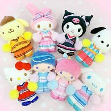 JAPAN Sanrio STORE idol supported cheerleading team LIMITED Key chain TOTAL 8