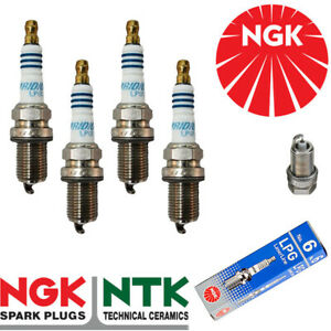NGK Iridium LPG Spark Plugs - fits Jeep Patriot 2.4L 07- x4