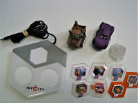 DISNEY INFINITY Figure Lot And Portal For Xbox 360