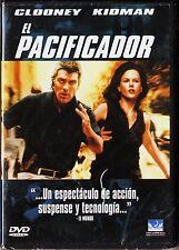 EL PACIFICADOR con Nicole Kidman y George Clooney. Tarifa plana envío DVD, 5 €
