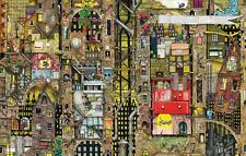 1000 pcs jigsaw puzzle: Colin Thompson - Fantastic Townscape (Schmidt 59355)