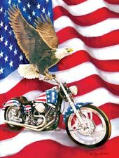 Jigsaw Puzzle Motorcycle Americana Symbols of Freedom 500 pieces NEW made in USA