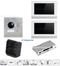 Dahua IP-Videotürsprechanlage Einfamilienhaus 2x Touch-Monitore neu - UP Lan