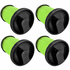 Green Vacuum Cleaner Washable Filter for GTECH Multi MK2 Cordless Filters x 4