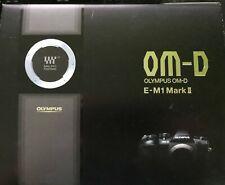 Olympus OM-D E-M1 Mark II 20.0MP Systemkamera - Schwarz Neu und OVP
