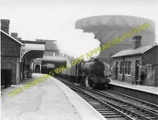 Radford Railway Station Photo. Nottingham to Basford and Trowell Lines. (1)