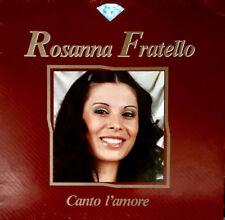 ROSANNA FRATELLO | Raro LP 1987 Diamante | CANTO L'AMORE | Gigliola CINQUETTI