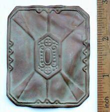 Antique Ornament Brass Belt Buckle (Fbr01)