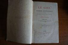 ANCIEN LIVRE LE CIEL AMEDEE GUILLEMIN seconde edition RARE