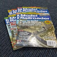 Model Railroader Magazine 2010 Kalmbach Publishing 8 Issues Electric Trains Hobb