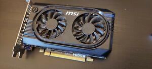MSI ATI Radeon HD R7750 Graphics Card 1GB GDDR5 PCI Express 3.0 HDMI DisplayPort