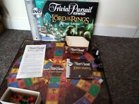VGC Parker The Lord Of The Rings Trilogy Edition Trivial Pursuit Dvd Board Game