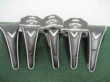 Lot of 5 - New Callaway Golf Dual Mag Fairway Wood Head Cover - Black c40201
