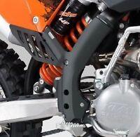 KTM KIT COPPIA PROTEZIONI TELAIO NERE SX SX-F 2007 AL 2010 ORIGINALI 77303094100
