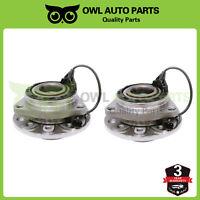 Front Wheel Hub And Bearing Set Pair for Saab 9-3 2003-2011 Saab 9-3x 2010-2011