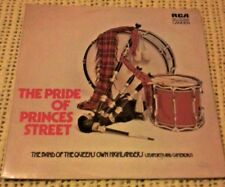 MARCHING BANDS - THE PRIDE OF PRINCES STREET VINYL LP ORIGINAL RCA CAS - 7222