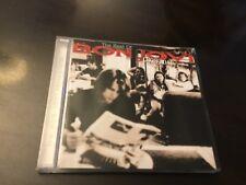 THE BEST OF BON JOVI - CROSS ROAD - GREATEST HITS CD - LIVIN' ON A PRAYER +