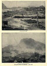 Norwegen * Der große Brand von Ålesund / Aalesund Bilddokumente von1904
