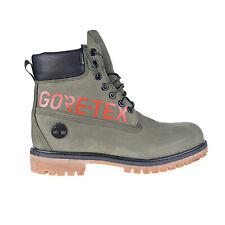Timberland Premium 6 Inch Gore-Tex Men's Boots Green Nubuck TB0A2ECU