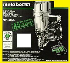 "Metabo HPT NV83A5 3-1/4"" Coil Framing Nailer - BRAND NEW!!"