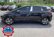 fit:2012-2017 Hyundai Elantra GT Hatchback 8Pc Pillar Post Trim Door Cover