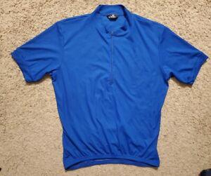 Canari Cycling Jersey Mens Large Blue
