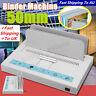 220V 50mm Desktop Electric Hot Melt Glue Book Binding Binder Machine for A4