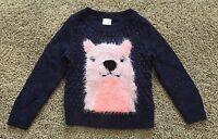 NWT Girls Nightfall Blue Long Sleeve Cat & Jack Sweater 12 Months