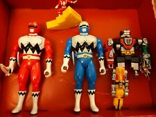 Power Ranger Action Figure Lot mixed 1998 Original red blue mega
