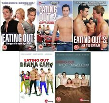 EATING OUT 1 2 3 4 5 COMPLETE COLLECTION DVD SET UK Release Movie Film NEW R2
