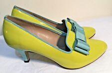 Size AU 8 / EUR 39 / UK 6 / US 8 Women's Colorful Bow Tie Detail Kitten Heels