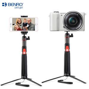 Benro SC1 Bluetooth Selfie Stick Carbon fiber Tripod 3in1suit 99% of smartphones