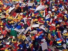 LEGO 200 PIECES / 1/4KG & 1 x MINIFIGURE - OVER 3,000 SOLD CLEAN BRICKS / PARTS