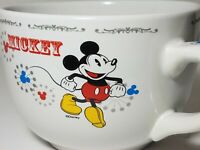 DISNEY Characters w/VTG Look Coffee Soup Mug Cup Cerea Duck Mickey Minnie Goofy