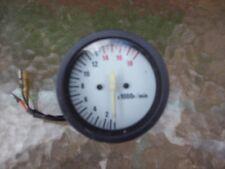suzuki gsxr 400 tachometer tacho clock rpm instrument gauge clock barn find