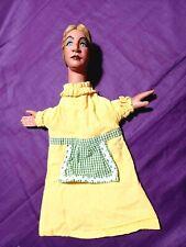 marionnette  theatre **1930* 1940 tissus xxe