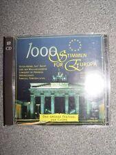 1000 Stimmen für Europa Deutsche Chöre singen die schönsten Lieder Euro.. [2 CD]