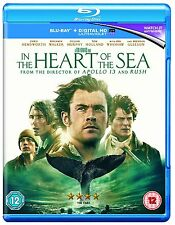 BLU-RAY  IN THE HEART OF THE SEA           BRAND NEW SEALED GENUINE UK STOCK