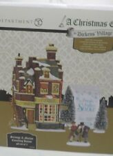 NEW Dept 56 DICKENS VILLAGE Scrooge & Marley COUNTING HOUSE - 5 Piece SET