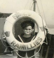 DVD scans of WW2 Royal Navy Sailors photo album served on HMS Ramillies