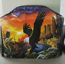 Eagle #9 Desert Canyon Sunset Sky Bbq Barbecue Heavy Duty Gas Grill Cover