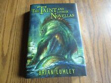 The Taint and Other Novellas, Brian Lumley, signed,  Subterranean Press